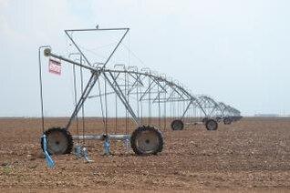 crop sprinkler perspective