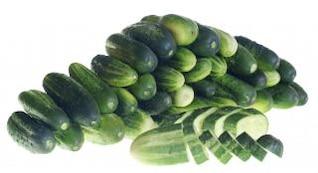 Cucumbers, refreshment