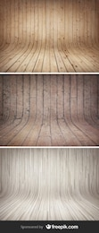 Curved Wooden Backgrounds