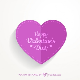 Cut out valentines heart