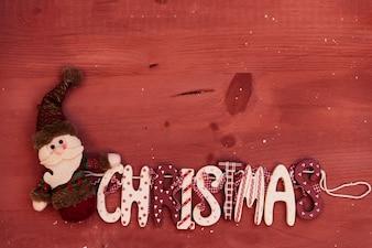 Cute christmas composition
