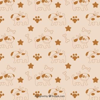 Cute dog pattern