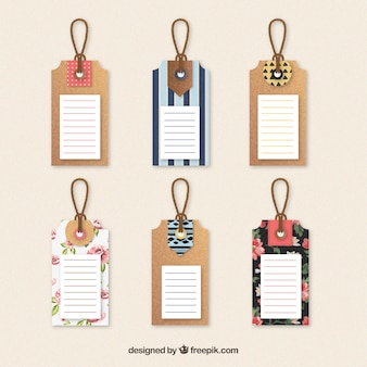 Cute tags collection