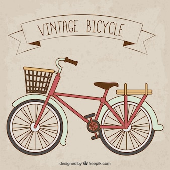Cute vintage bicycle