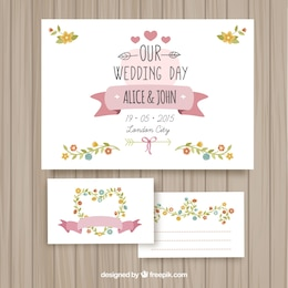 Cute wedding cards