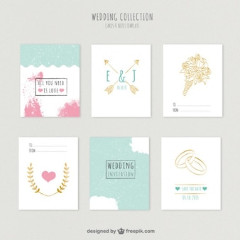 Cute wedding invitations collection