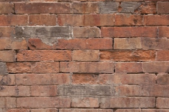 Damaged brick wall texture