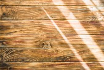 Dark wooden background with lights