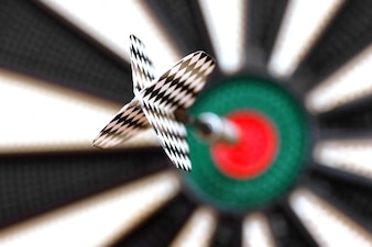 Dart in center