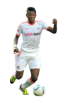 David alaba   bayern munich bundesliga
