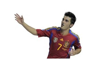 David Villa , Spain National team