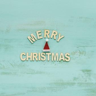 Украшение для Рождества в шляпе и письмах