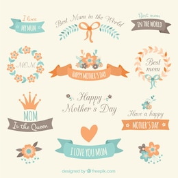 Decorative elements for mothers day