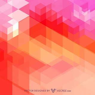 Decorative pattern with abstract shapes