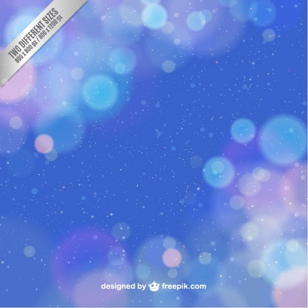 Deep blue background with sparkles