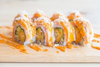 Delicious rice rolls