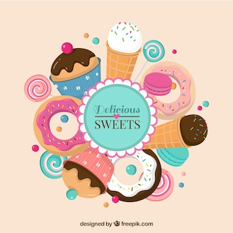Delicious sweets