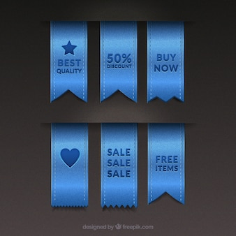 Denim sales tags