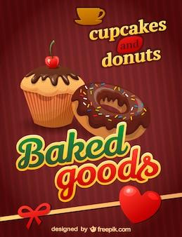 Dessert vector graphics