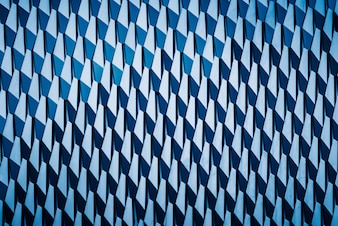 Detail shot of patterned wall