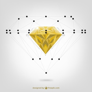 Diamond vector structure