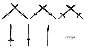 different swords