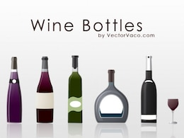 Different Types of Wine Bottles
