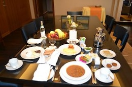 dining table  food