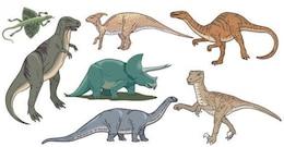 Dinosaurs Free Vector Image