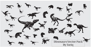 Dinosaurs Free Vector