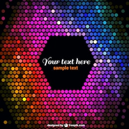 Disco vector free background