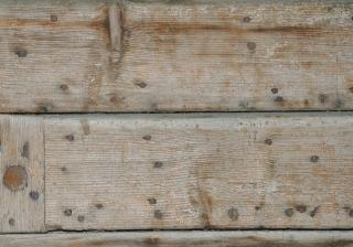 Discoloured wood, boards