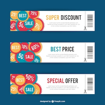 Discount card templates