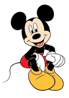 Disney Mickey Mouse vector clipart