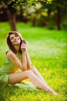 Divine lady nature lifestyle light