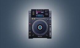 Dj music deck elements PSD