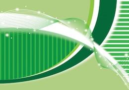dna illustration in green