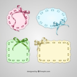 Doily banners