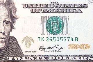 Dollar , close-up
