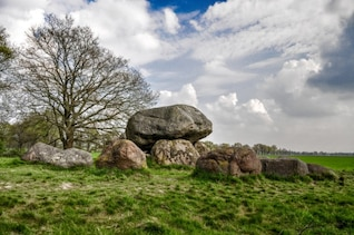 Dolmen in the meadow