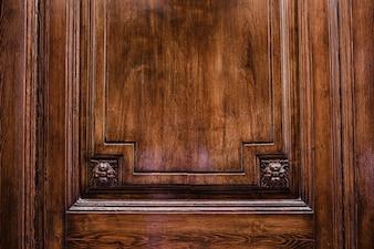 Door made of wood for texture