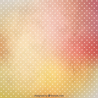Dots background in grungy style