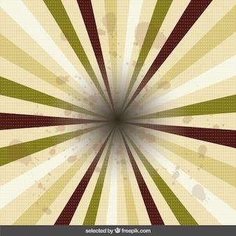 Dotted sunburst background