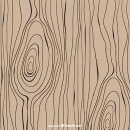 Drawn wood texture