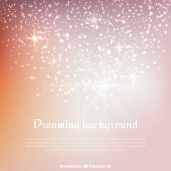 Dreaming background