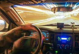driving at speed of light  highway