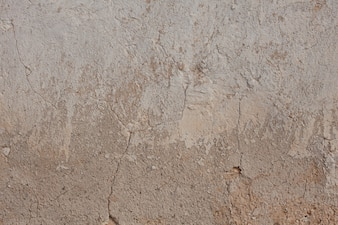 Drought plaster surface
