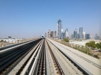 Dubai train