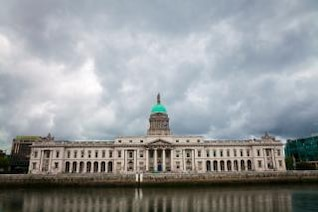 dublin custom house  scene