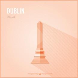 Dublin landmark vector